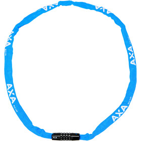 Axa Rigid Code Kettingslot 120cm, blue